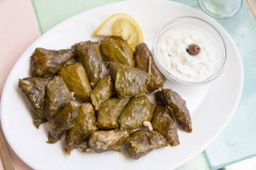 Fylte Grape Leaves (Dolmades Nistisimi, Dereve Pattoug)