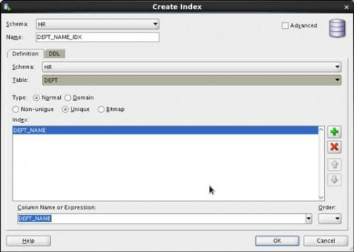Object Creation Metoder i Oracle 12c