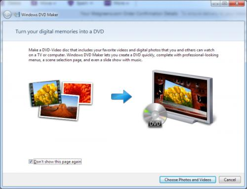 Med Windows DVD Maker