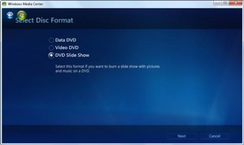 Hvordan brenne en DVD i Windows Media Center