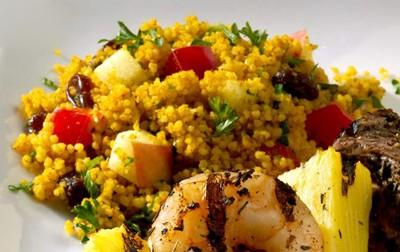 Flat-Belly Diet Recipe: Curried Couscous