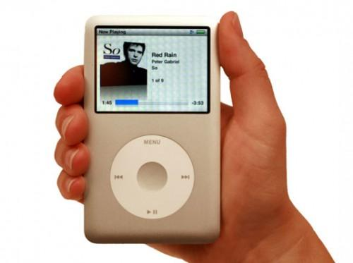 Menyer for iPod Classic Modeller og iPod nano