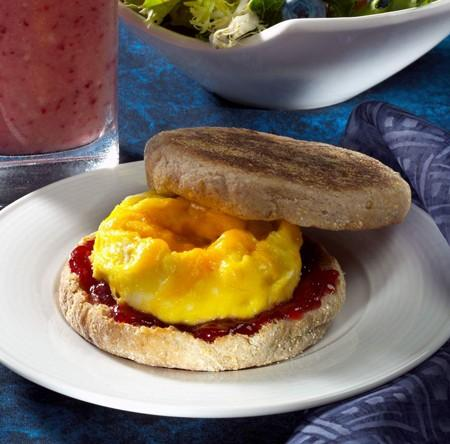 Flat-Belly Diet: Mikrobølgeovn Egg Sandwich