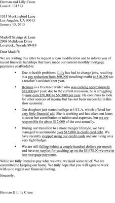 Example Letter Explkanation To Underwriter Wage Change