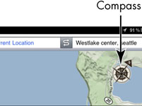 For Pensjonister: Bruk Compass i iPad Google Maps